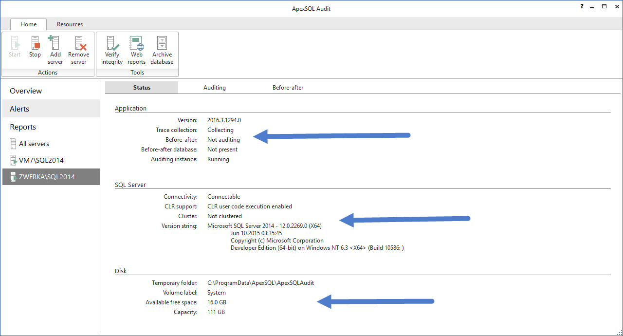 SQL SERVER - Database Auditing and Compliance apexaudit8
