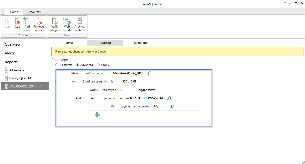 SQL SERVER - Database Auditing and Compliance apexaudit9