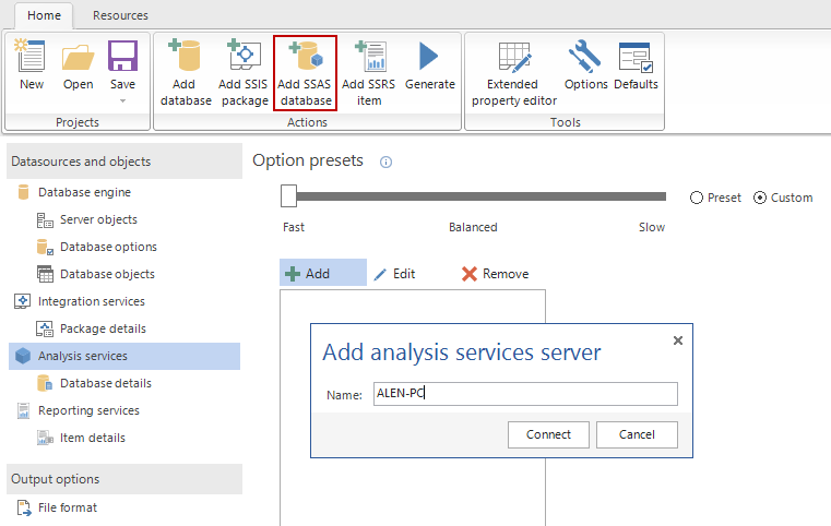 SQL SERVER - Create Database and BI (SSAS, SSRS, SSIS) Documentation apexdoc10