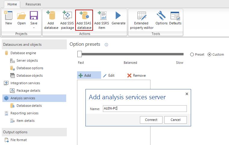 SQL SERVER - Create Database and BI (SSAS, SSRS, SSIS) Documentation apexdoc10