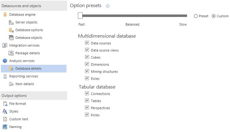 SQL SERVER - Create Database and BI (SSAS, SSRS, SSIS) Documentation apexdoc11