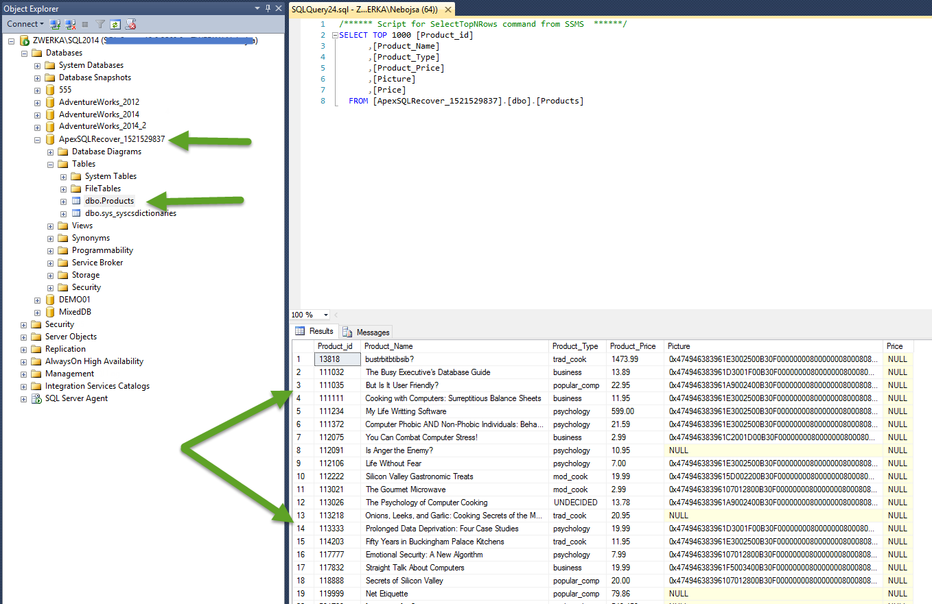 SQL SERVER - Database Disaster Recovery Process apexdr10