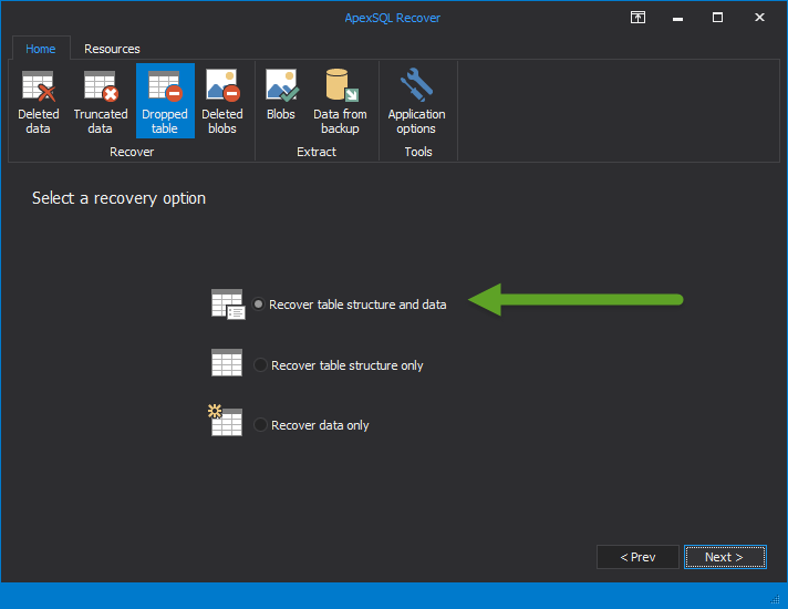 SQL SERVER - Database Disaster Recovery Process apexdr7