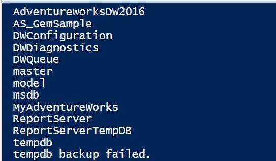 PowerShell Script - Backup Every Database In SQL Server