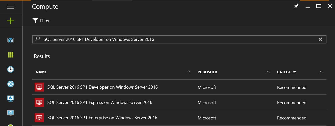 SQL SERVER - Creating Azure VM for SQL Server Using Portal create-sql-vm-on-azure-01