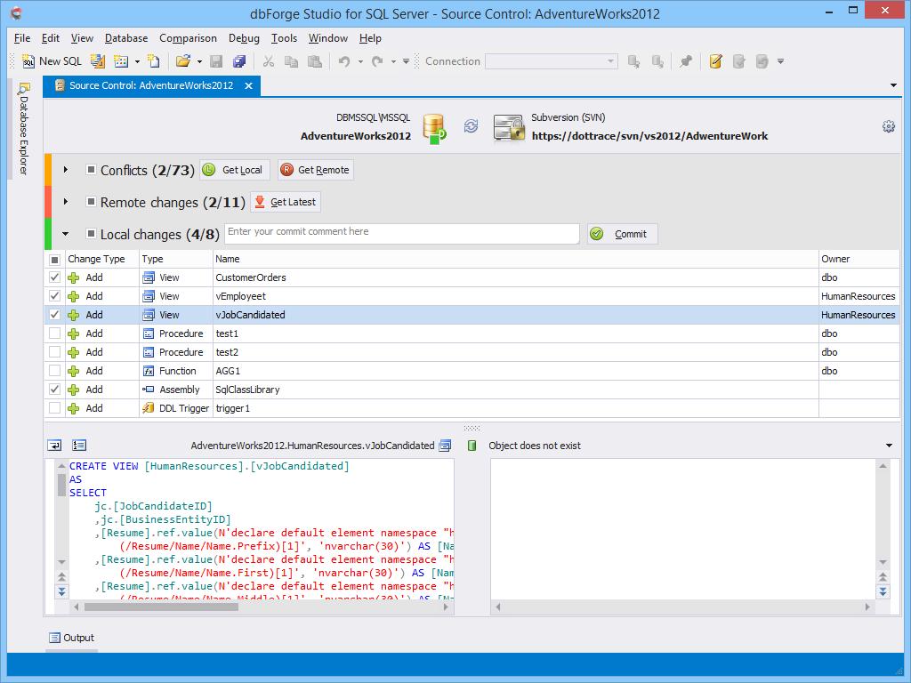 dbForge Studio for SQL Server - Ultimate SQL Server Manager Tool from Devart dbforge2