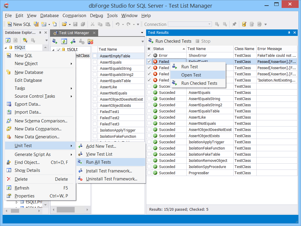dbForge Studio for SQL Server - Ultimate SQL Server Manager Tool from Devart dbforge4