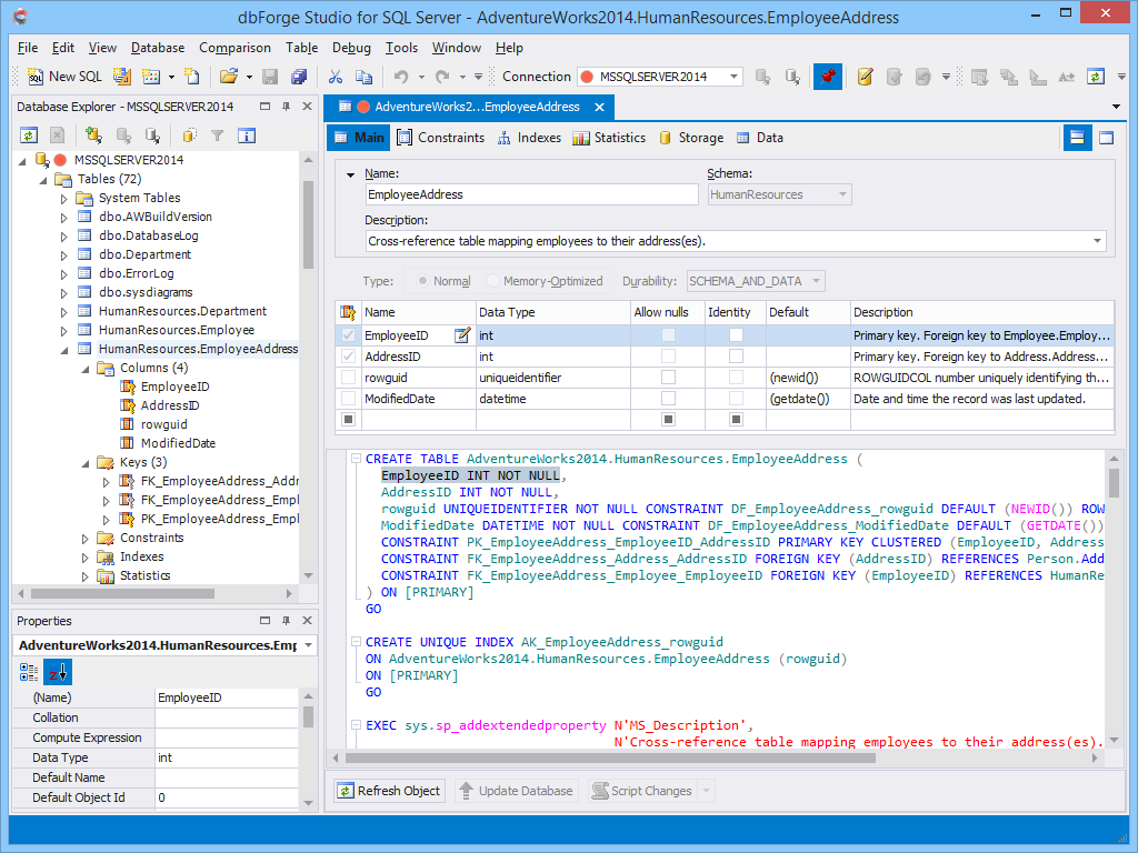 dbForge Studio for SQL Server - Ultimate SQL Server Manager Tool from Devart dbforge5