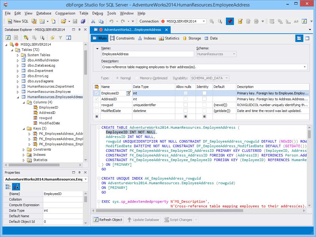 dbForge Studio for SQL Server - Ultimate SQL Server Manager Tool from Devart dbforge5