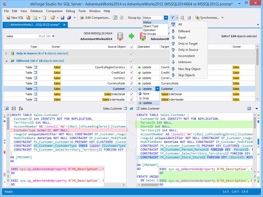 dbForge Studio for SQL Server - Ultimate SQL Server Manager Tool from Devart dbforge8