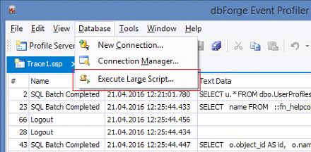 SQL SERVER - SQL Profiler vs Extended Events devext4