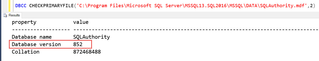 SQL SERVER - Fix Error - 948 A downgrade path is not supported. The database cannot be opened because it is version. down-attach-error-02