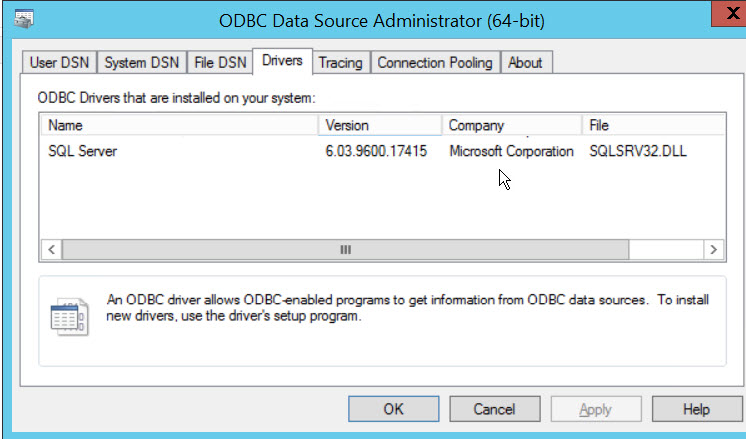 SQL SERVER - Unable to bring resource online. Error - Data source name not found and no default driver specified ds-02
