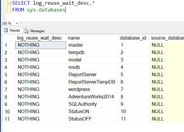 SQL SERVER – Huge Transaction Log (LDF) for Database in Availability Group huge-tx-log