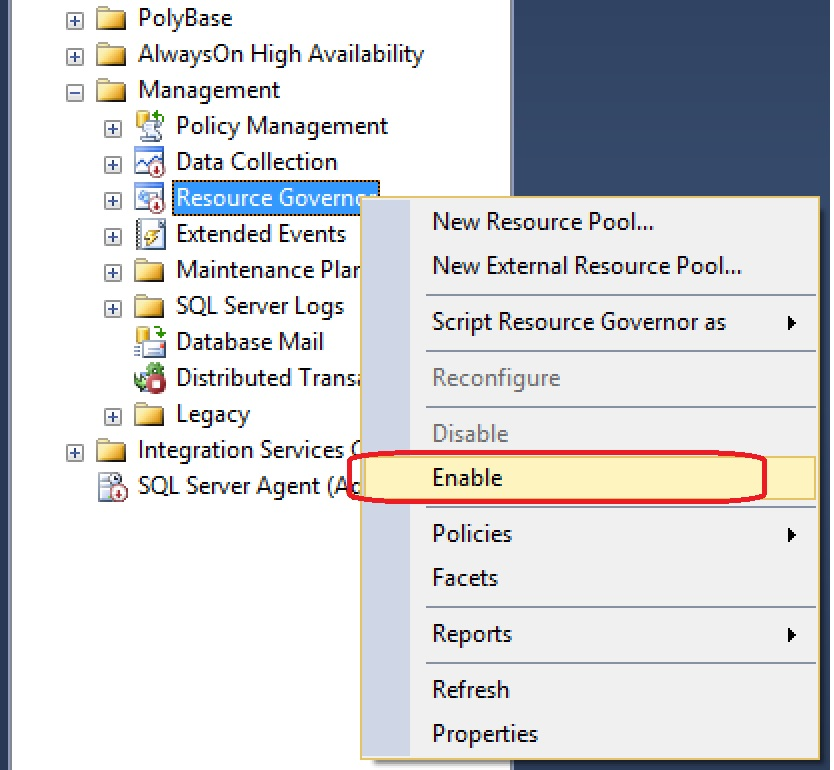 SQL SERVER - Error - Disallowing page allocations for database 'DB' due to insufficient memory in the resource pool insufficent-memory-02