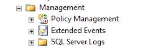 SQL SERVER - Maintenance Plan Folder Missing Under Management in SQL Server Management Studio mp-missing-01