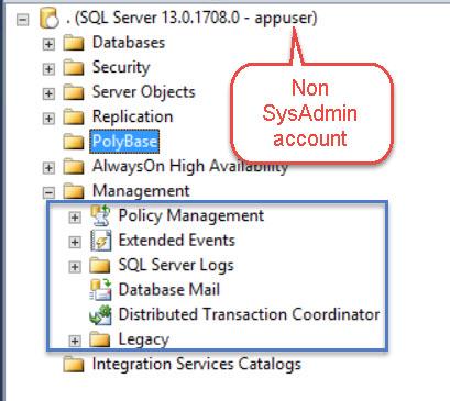 SQL SERVER - Maintenance Plan Folder Missing Under Management in SQL Server Management Studio mp-missing-02