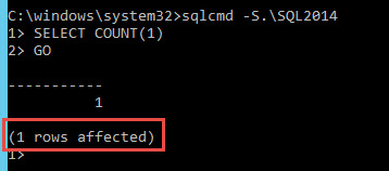 SQL SERVER - Where is Rows Affected in Output? nocount-03