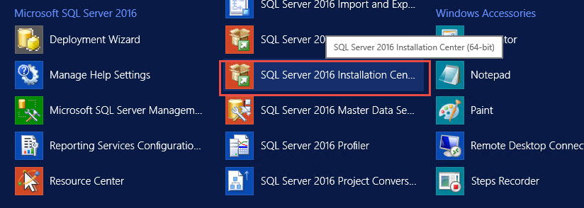 SQL SERVER - Discovery Report - How to Find Information About Installed Features? sql-dis-01