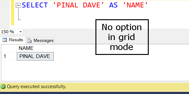 SQL SERVER - How to Increase the SSMS Grid Font Size? ssms-grid-03