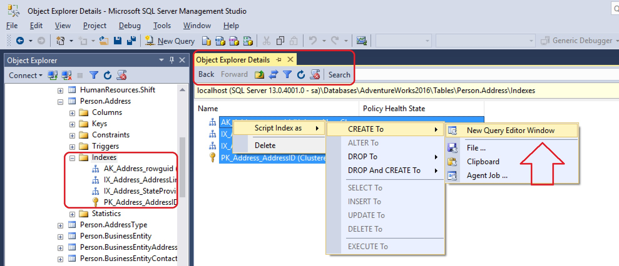 SQL SERVER - SSMS - Script Out Multiple Objects ssms-script-multiple-objects-02