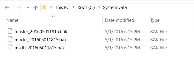 PowerShell - Backup SQL Server System Databases system-database-01