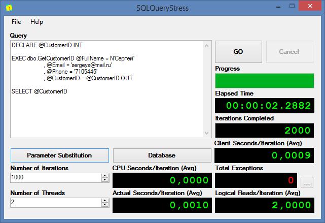 SQL SERVER - Testing Database Performance with tSQLt and SQLQueryStress tsqlt6