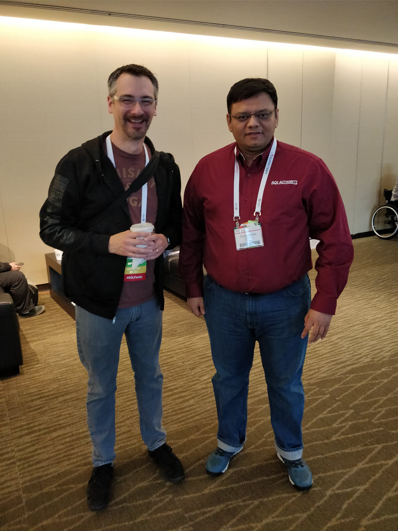 SQL Authority News - Updates on Recent Trip to SQL PASS 2017, Seattle Brent and Pinal