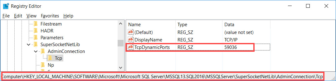 SQL SERVER - An Error Occurred While Obtaining the Dedicated Administrator Connection (DAC) Port DAC-error-02