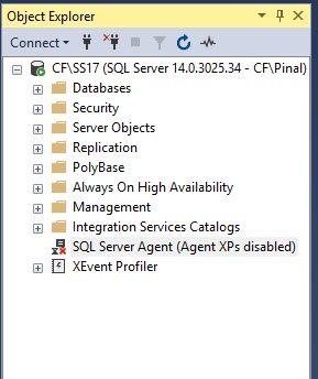 How to List All the SQL Server Jobs When Agent is Disabled? - Interview Question of the Week #171 agentdisabled1