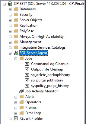 How to List All the SQL Server Jobs When Agent is Disabled