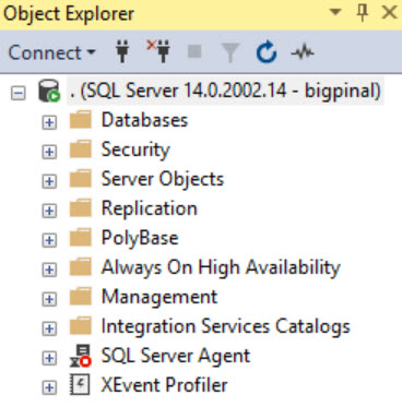 SQL SERVER - SQL Server Agent Missing in SQL Server Management Studio (SSMS) agt-miss-02