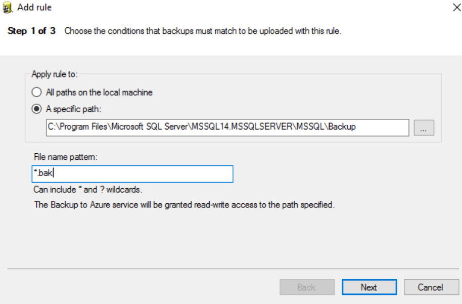 SQL SERVER - Backup to Microsoft Azure Tool - ERROR: Account Verification Failed az-err-02