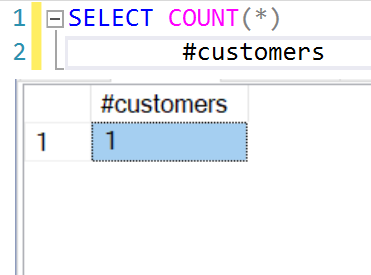 SQL SERVER - COUNT, FROM and a Query - Interesting Observation count2