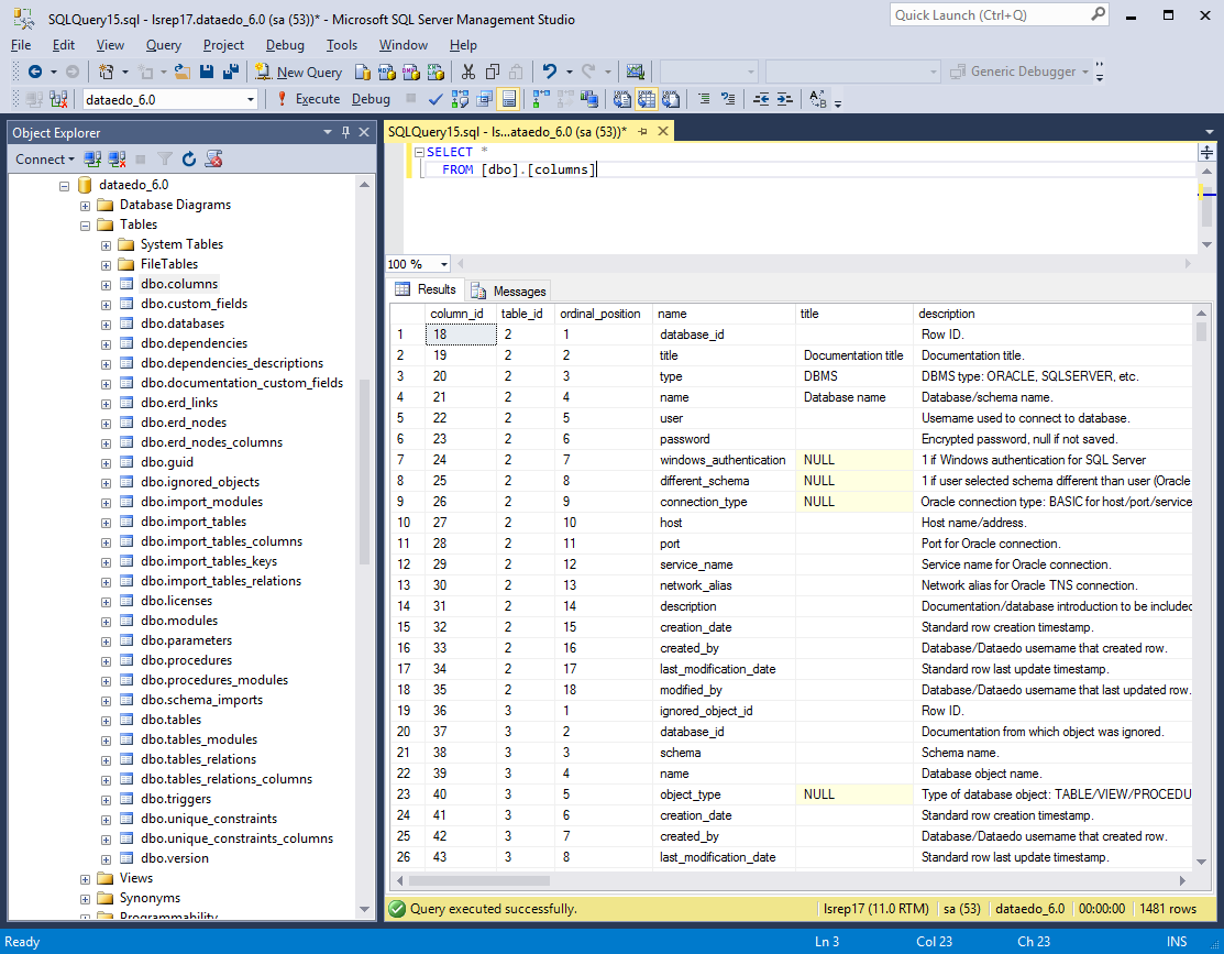 SQL SERVER - Document Your Databases with Data Dictionary and Diagrams dd10