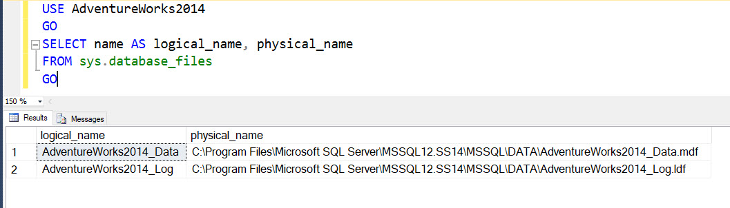 SQL SERVER - Move Database Files for a Mirrored Database Without Breaking Mirroring dbmirrorfile1