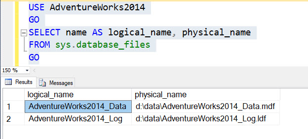 SQL SERVER - Move Database Files for a Mirrored Database Without Breaking Mirroring dbmirrorfile3