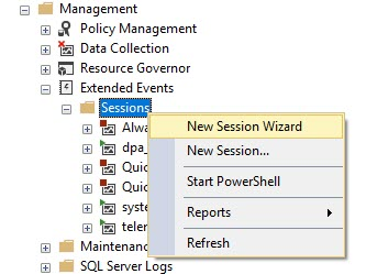 SQL SERVER - Identifying Deprecated SQL Server Features with Extended Events deprecatedfeatures1