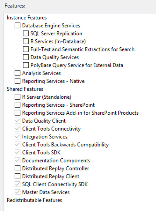SQL SERVER - All the Features not Listed While Installing SQL Server feature-miss-02