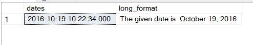 SQL SERVER - Learning New Multipurpose FORMAT Function format6