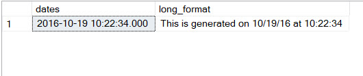 SQL SERVER - Learning New Multipurpose FORMAT Function format7