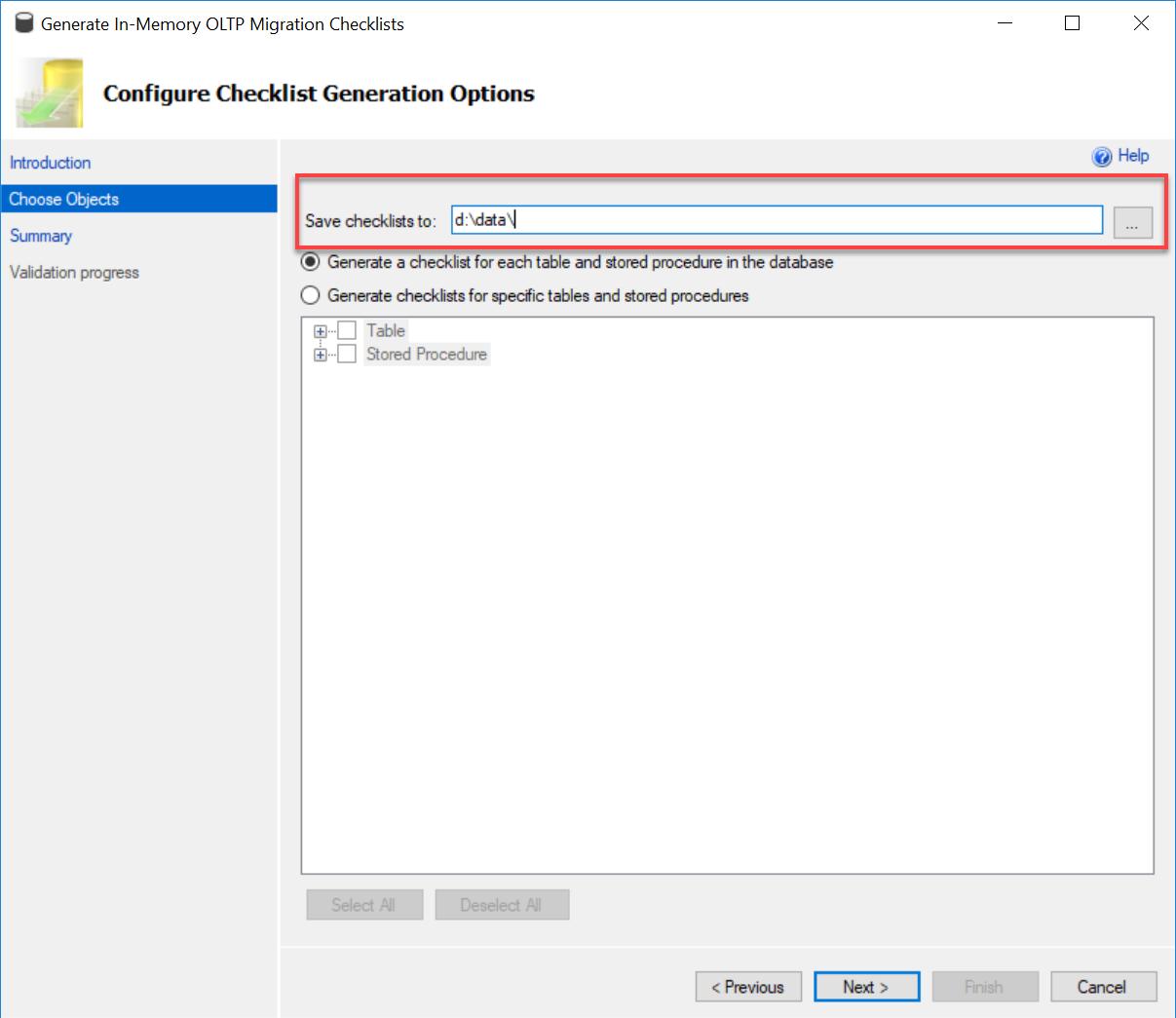 SQL SERVER - Generating In-Memory OLTP Migration CheckList inmemorychecklist3