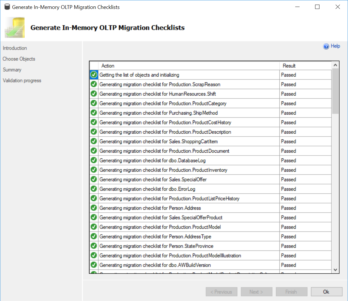 SQL SERVER - Generating In-Memory OLTP Migration CheckList - SQL