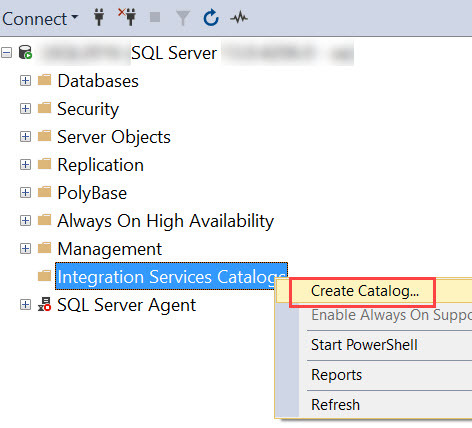 SQL SERVER - Assembly 'ISSERVER' Was Not Found in the SQL Catalog of Database 'SSISDB' isserver-02
