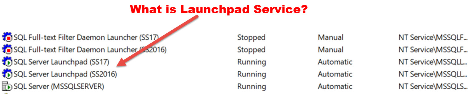 What is SQL Server Launchpad Service? - Interview Question of the Week #168 launchpadservice