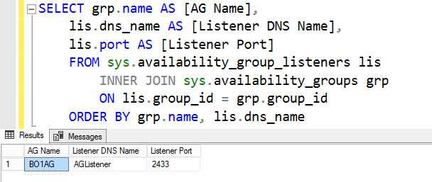 SQL SERVER - Unable to Get Listener Properties Using PowerShell - An Error Occurred Opening Resource list-powershell-01
