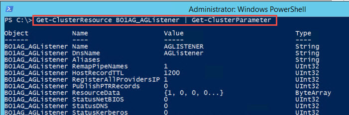 SQL SERVER - Unable to Get Listener Properties Using PowerShell - An Error Occurred Opening Resource list-powershell-04