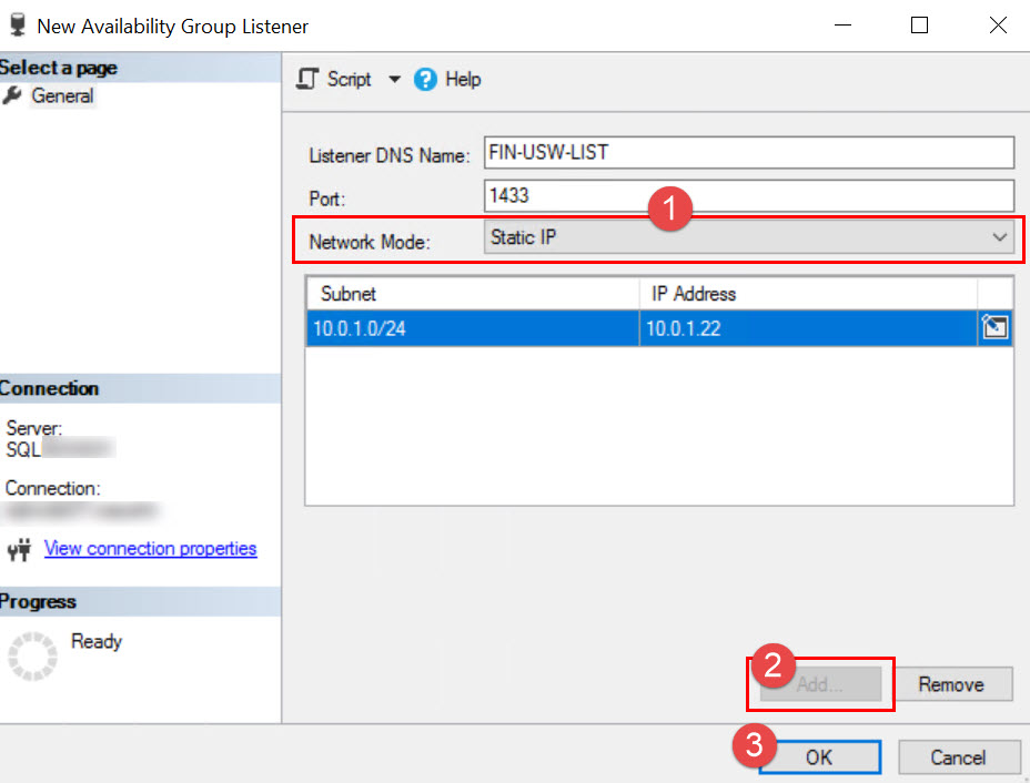 SQL SERVER - Error in Validation: Listener in Workgroup - Unable to determine if the computer exists in the domain 'WORKGROUP' list-wg-err-02