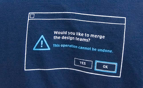 SQL SERVER - SQL Joke, SQL Humor, SQL Laugh - T-Shirt mergeback