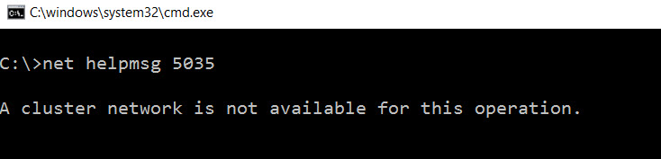 SQL SERVER - Event ID 1045 - No Matching Network Interface Found for Resource 'Cluster IP Address' IP address '10.10.10.10' (Return Code was '5035') multi-sub-01